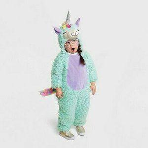 Hyde & Eek- Halloween Baby Toddler Llama Jumpsuit Costume 18-24 Months